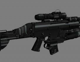 特种部队战斗突击步枪SCAR