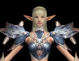 天堂2温婉白精灵美眉3D模型下载