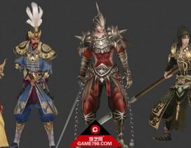AT王者世界四男性角色3D模型下载