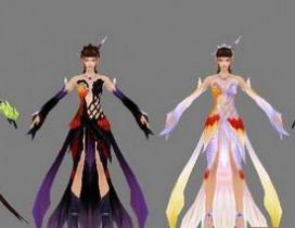 网络游戏诛仙2史上最全人物系列模型