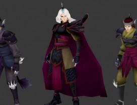 仙剑4妖界人物模型下载